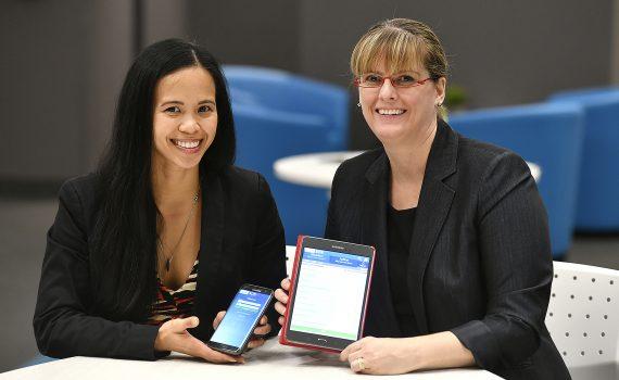 Jennifer Reguindin and Dr. Raquel Meyer