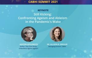 Screenshot of Allison Sekuler and Ashton Applewhite