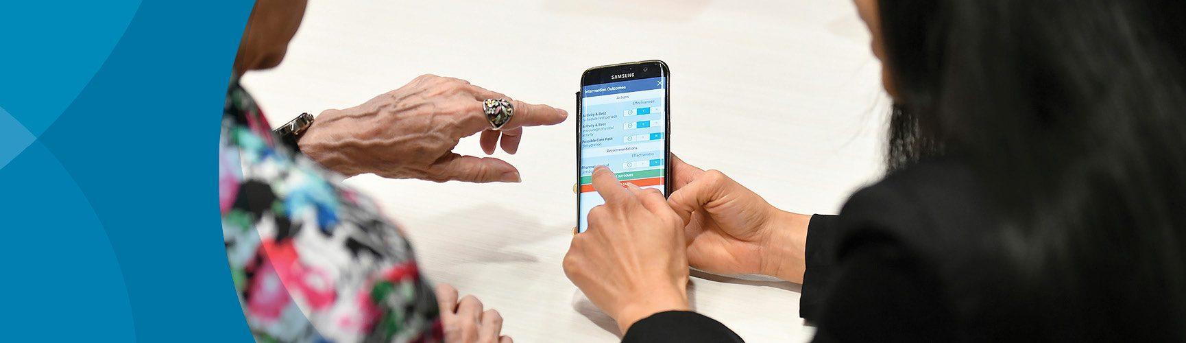 Seniors care apps
