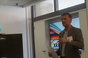 A picture of Dr. Cameron Norman, who facilitated the XR Think Tank