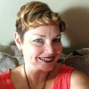 A headshot of Cindy Pluckett