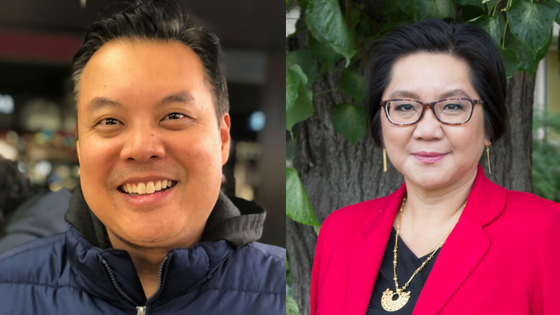 Community ASAP founders - Ron Beleno & Lili Liu