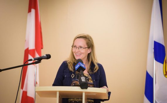 Dr. Keri-Leigh Cassidy at NSABHI event