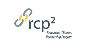 Researcher-Clinician Partnership Program logo includes image of hyperlinked chain