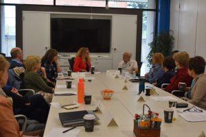 SAP members in a meeting