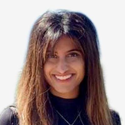 Headshot of Coach: Sarah Ishani