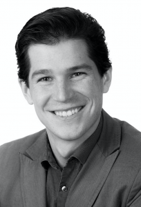 A headshot of Spencer Waugh