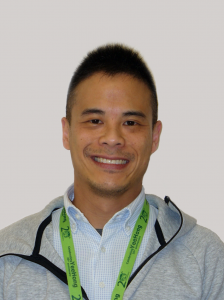 A headshot of social worker William Leung