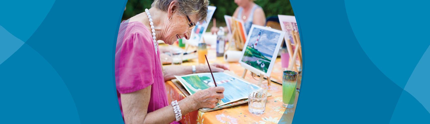 Community-arts based program SmArt aging