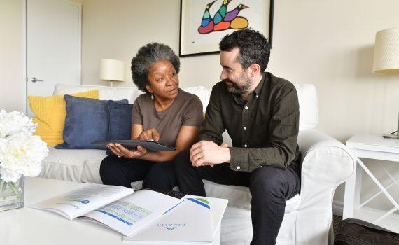 Caregiver and Trualta founder Jonathan Davis discuss the Trualta caregiving app.