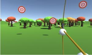 Example of a Virtual Gym game.