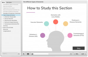 """A screen grab of the e-module that reads """"How to Study this Section"""""""