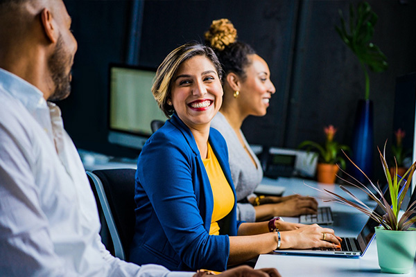 Market Readiness Section header: image of woman smiling